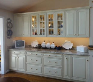 rusticstyle kitchen cabinets
