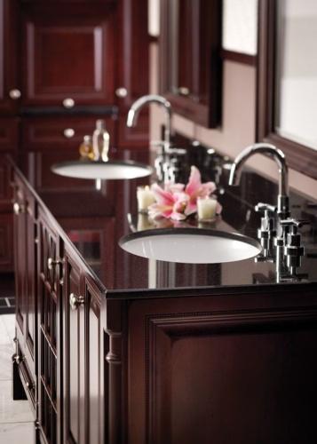 Clean Granite Bathroom Countertops