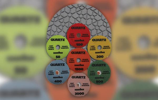 Weha Quartz Diamond polishing pads from Weha USA