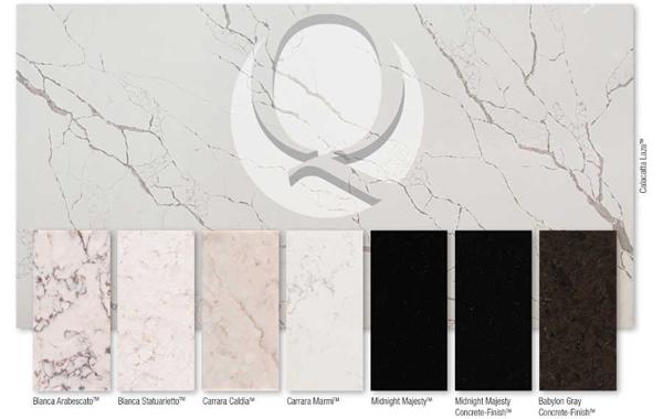 M S International Releases Eight New Q Premium Natural Quartz Colors