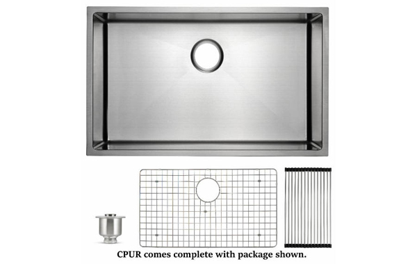 CPUR package available with Chef Pro sink.