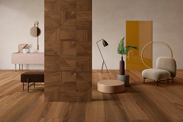 Bio Select: Lea Ceramiche presents the new collection of wood effect stoneware