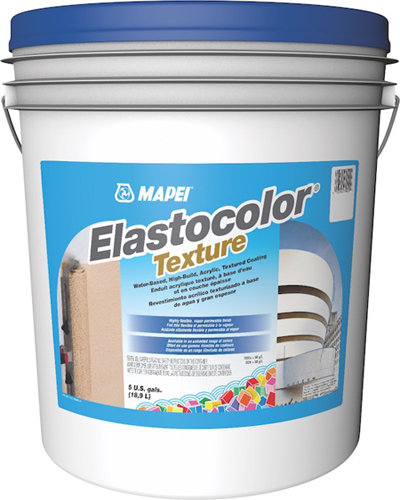 Elastocolor Offerings Now Include High-Performance Primer, Textured Coating