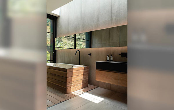 Neolith syncs with Japanese-style design