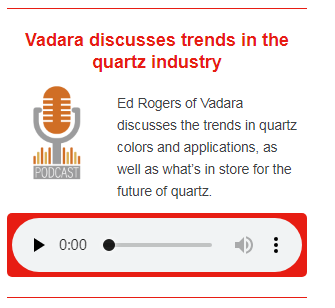One-on-One with Ed Rogers of Vadara Quartz