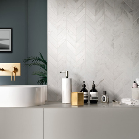 3D-Shape Technology in New Porcelain Collection Velluto