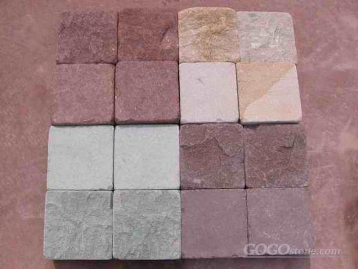 Paving stone,sandstone,granite,porphyry
