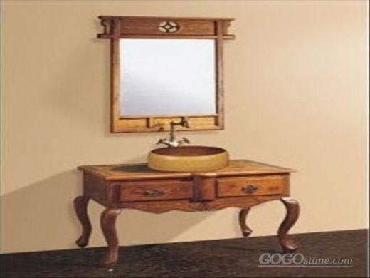 中式卫浴 欧式浴室柜 实木浴室柜()
