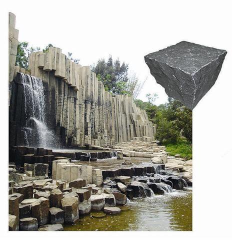 火山岩建筑石