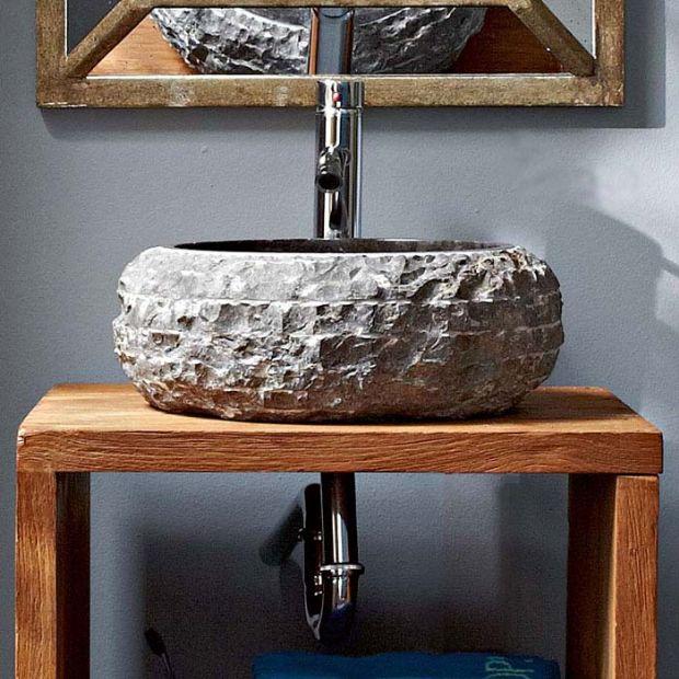 石灰石洗手盆