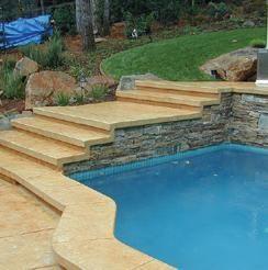 游泳池缘石
