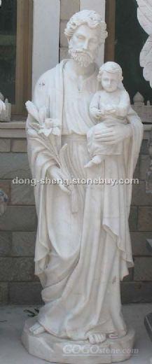 圣父抱小孩雕塑()