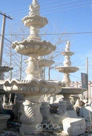 石雕喷泉() - 产品信息 - 曲阳县德泰雕塑厂()